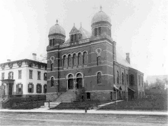 Historic Synagogues of Hartford – Jewish Historical Society of