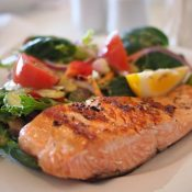 Recipes From Beth S. Goldberg's Kitchen – Salmon with Pineapple Glaze